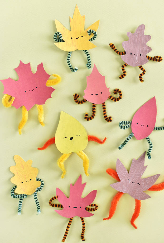 Playful Posable Leaf Sprites