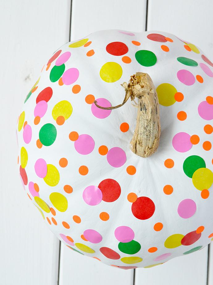 Yayoi Kusama Inspired Pumpkin