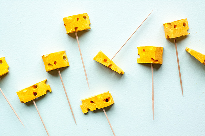 DIY Cheese Skewers