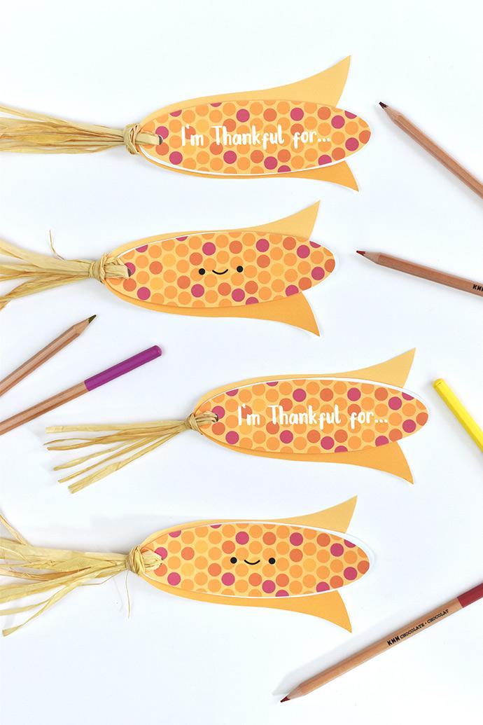 Harvest Corn Gratitude Books