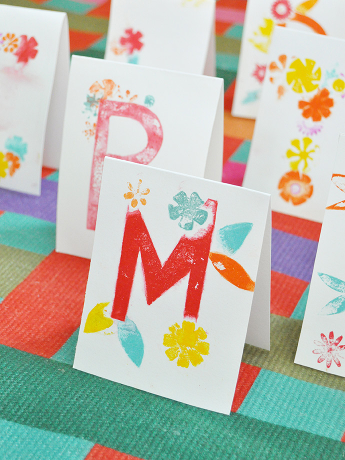 DIY Printed Place Cards