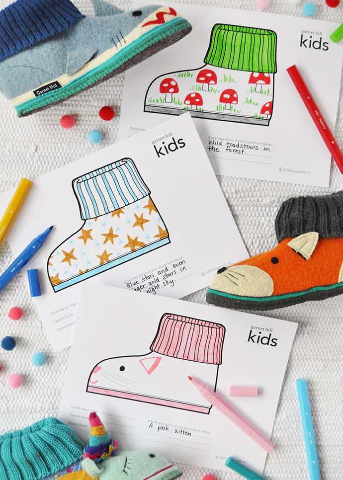 Design Your Own Slippers to Help Kids in Need ⋆ Handmade Charlotte