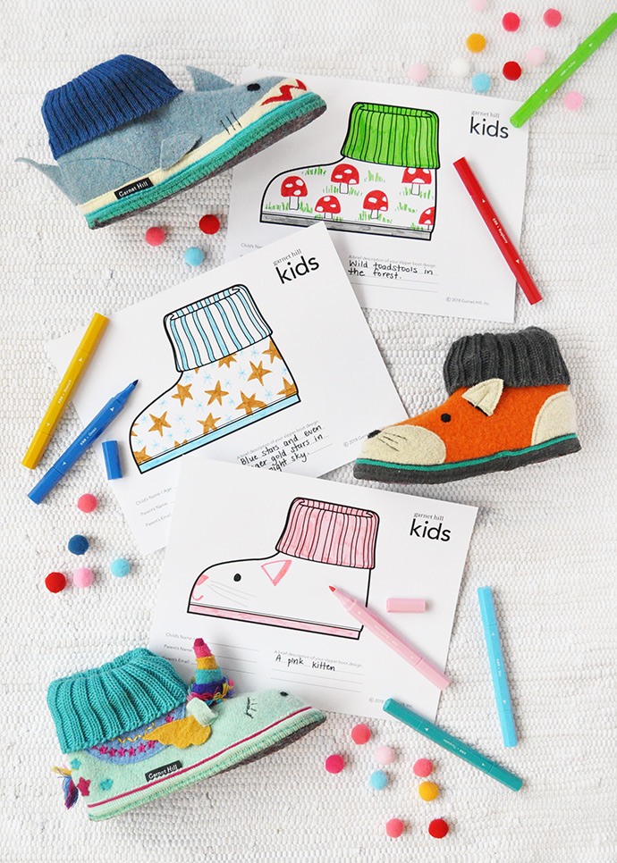 Design Your Own Slippers to Help Kids in Need