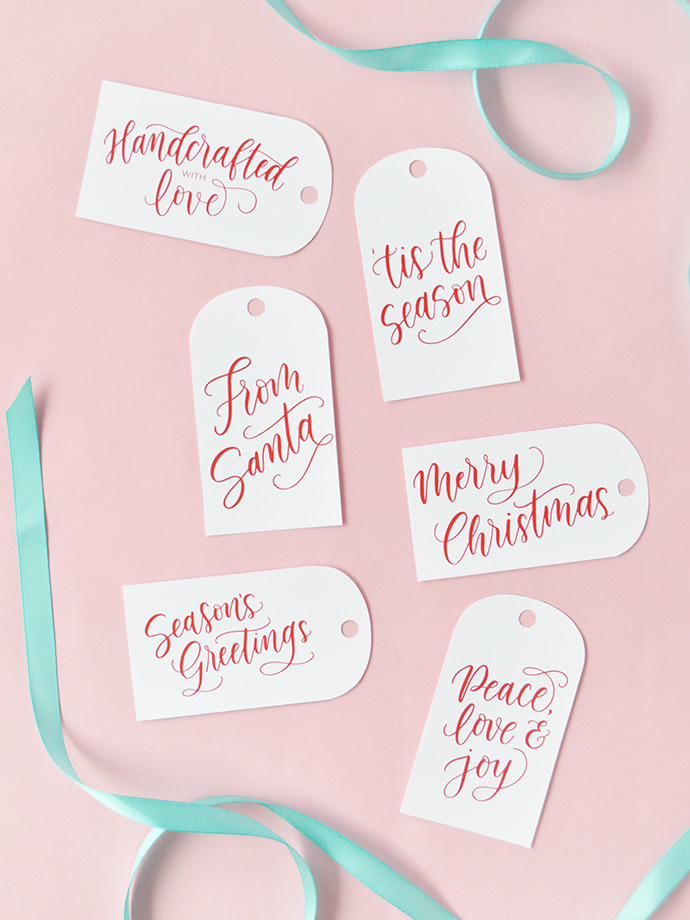 Get Ready for the Holidays with Brush Pen Lettering!