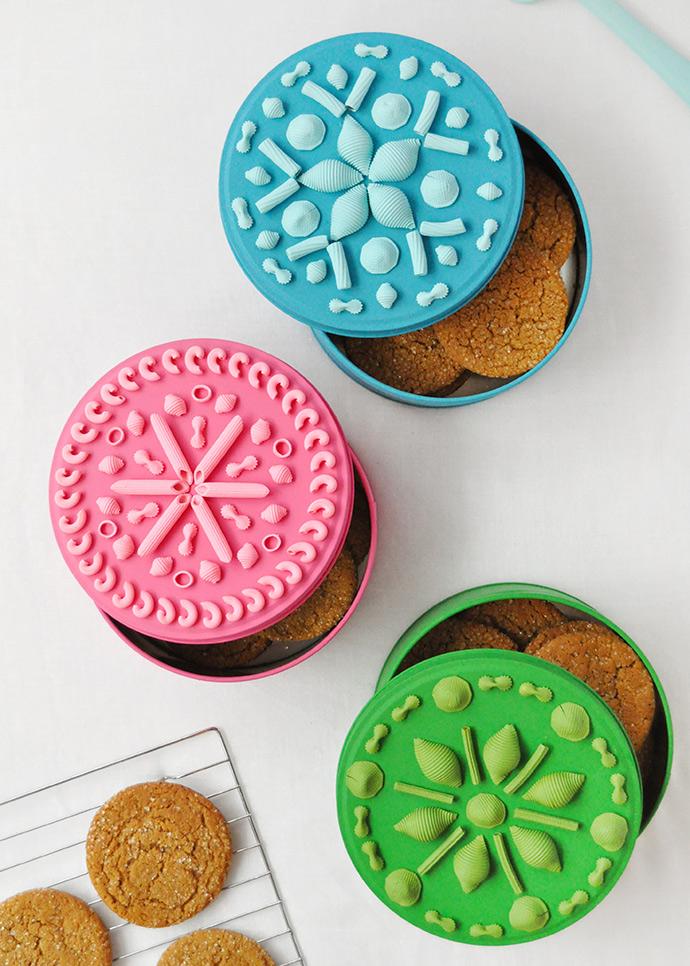 DIY Pasta Cookie Tins