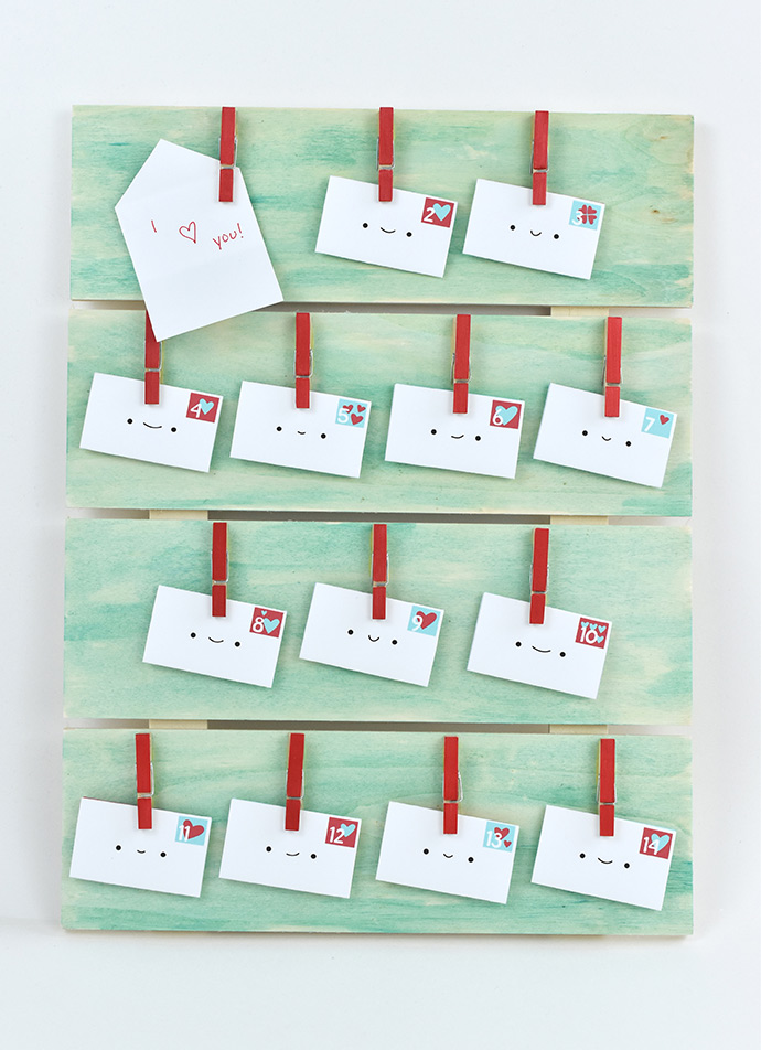 Valentine's Countdown Board