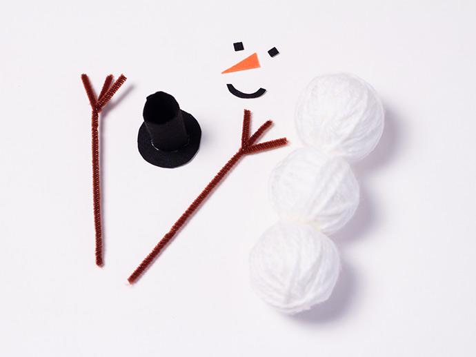 DIY Snowman Puppet