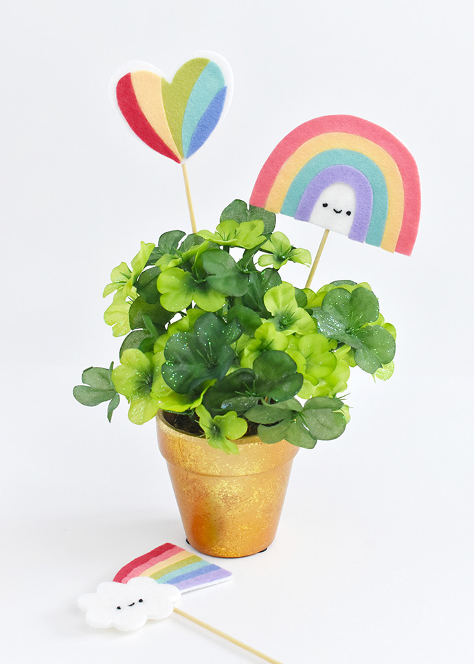 End of the Rainbow Plant Picks
