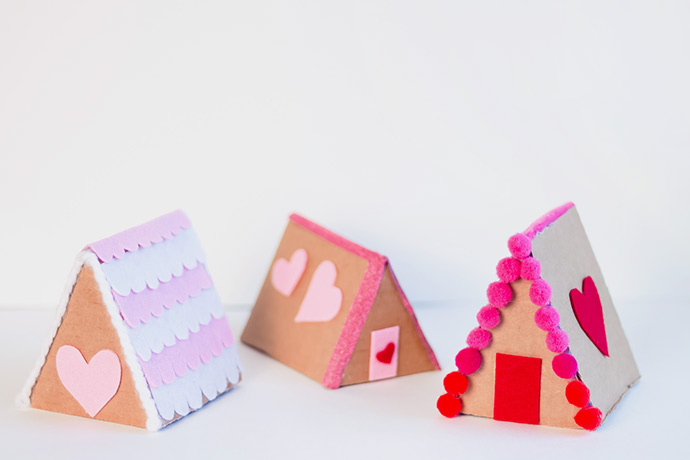 A-Frame Valentine's Day Village
