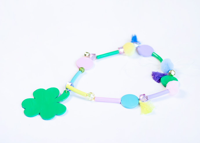 St Patrick's Day Lucky Necklace
