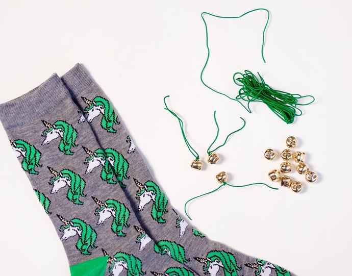 Lucky Socks for St Patrick's Day