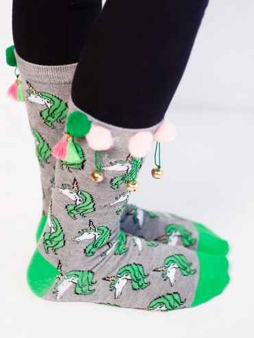 Lucky Socks for St Patrick's Day