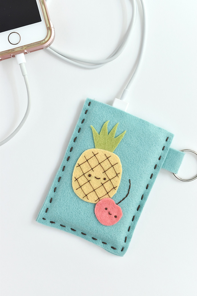 Felt Juice Box Power Bank Case