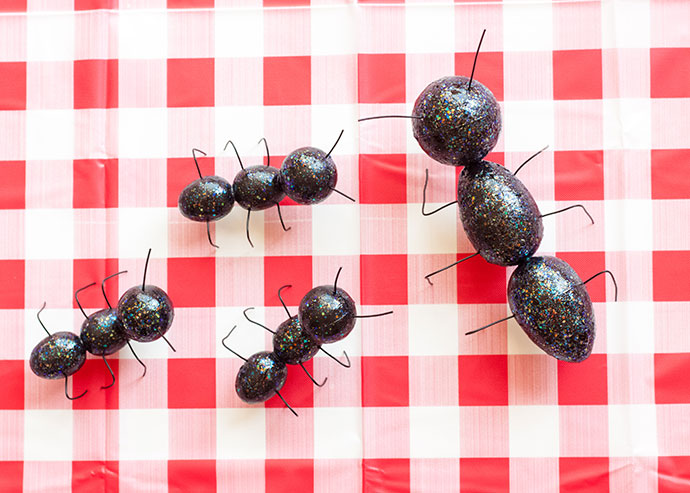 Ant Picnic Food Toppers