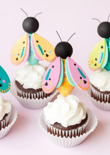 Bug Cupcake Toppers