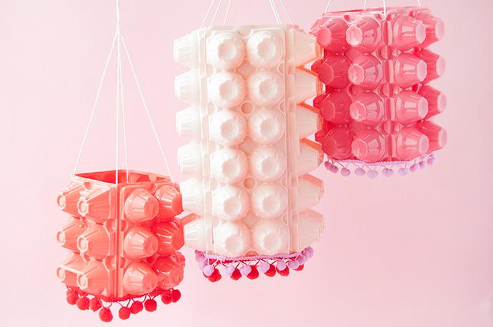 Upcycled Summer Lanterns