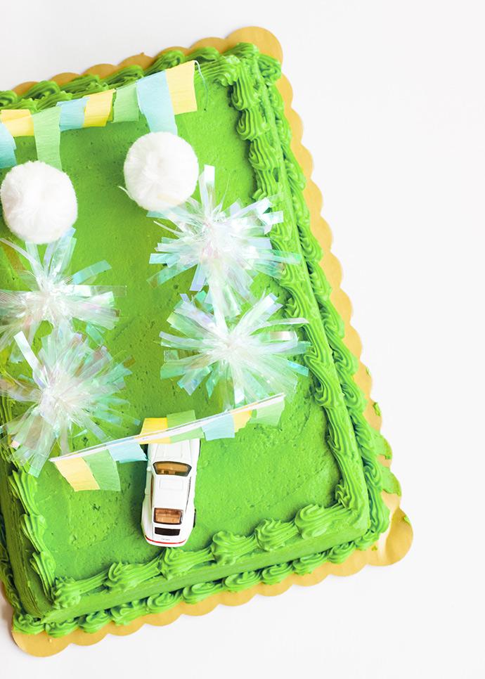 Car Wash Cake