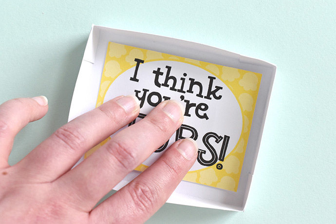 Printable Matchbox Pop-Up Cards