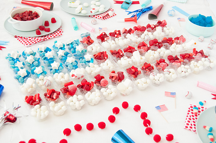 Fourth of July Candy Station