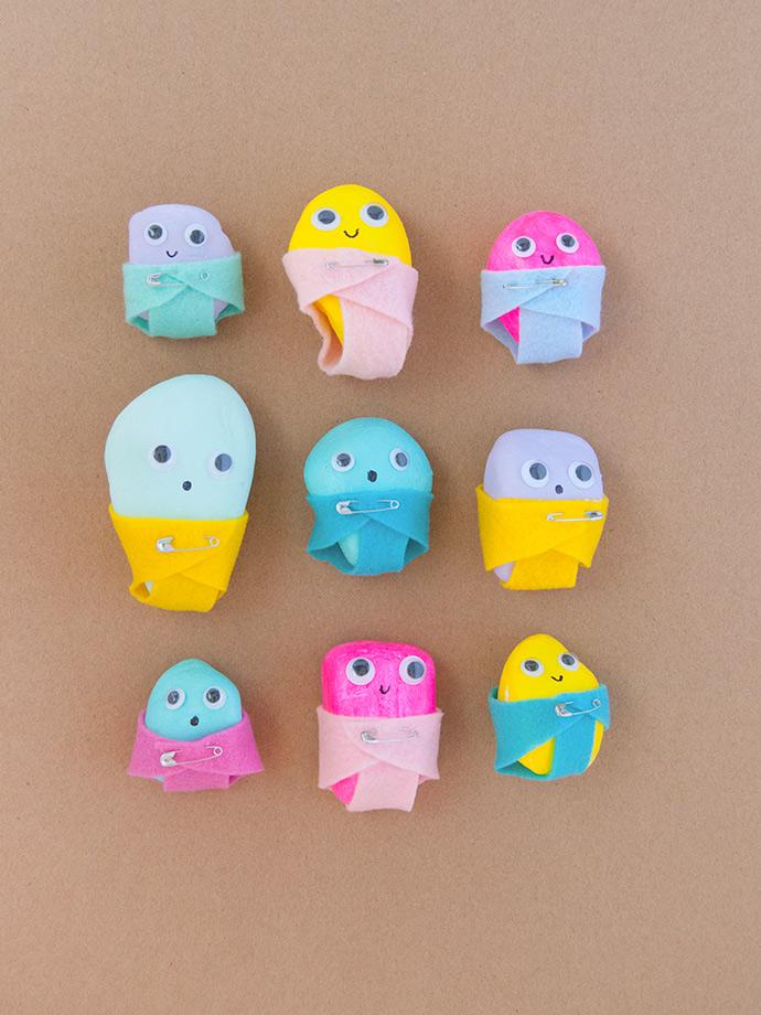 Painted Rock Babies