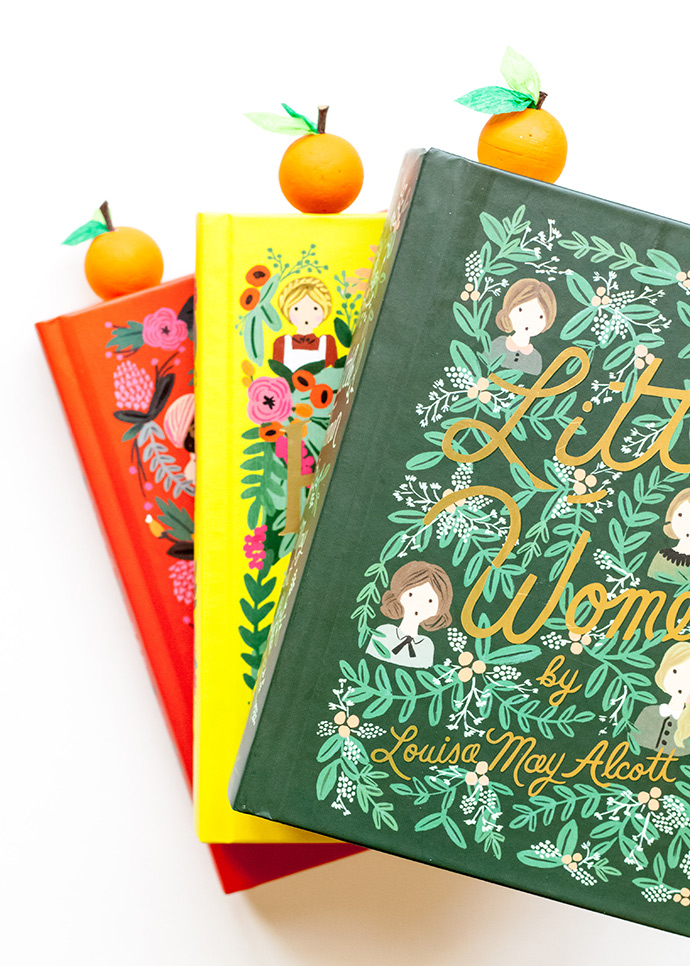 Florida Orange Bookmarks