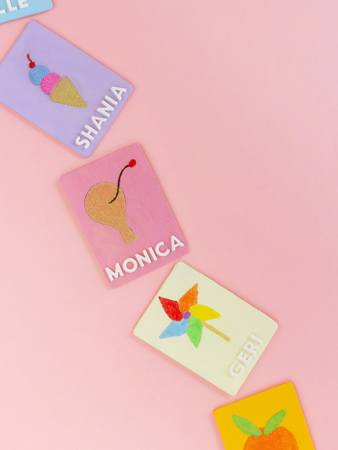Sand Art Place Cards