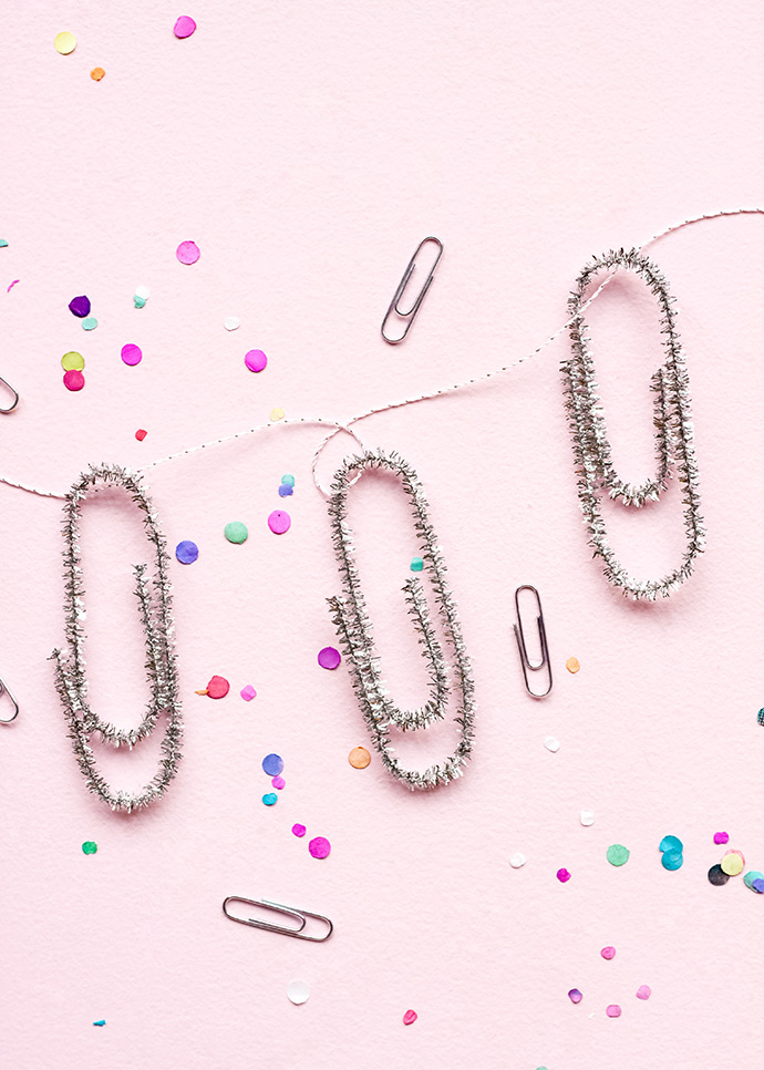 Back-to-School Paper Clip Garland