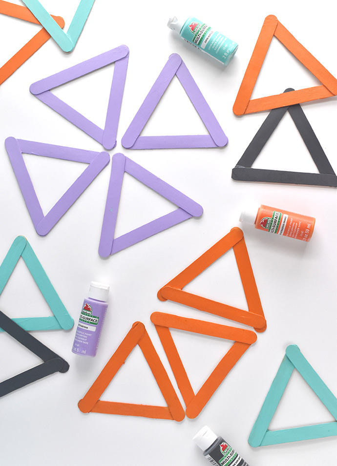 DIY Geometric Mosaic Tiles