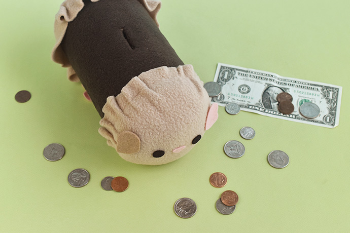 DIY Guinea Piggy Bank