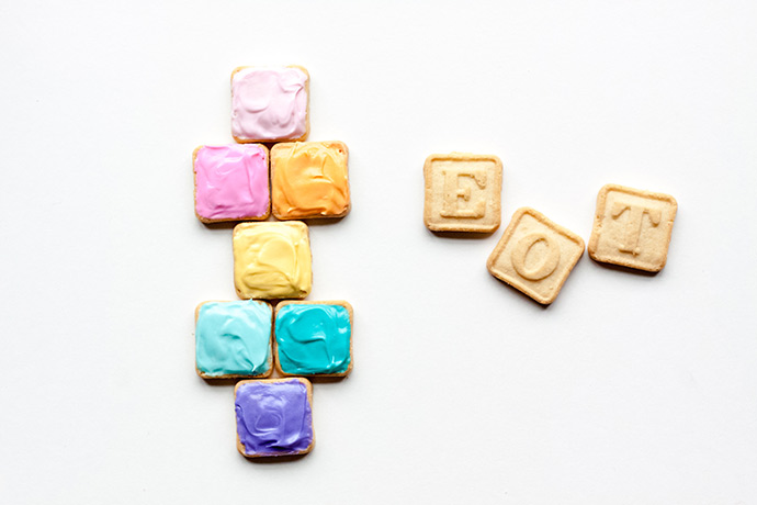 Hopscotch Cookie Treats