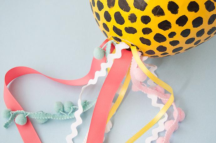 Paper Maché Cheetah Piñata