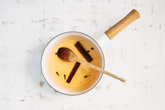 Cinnamon Tea Lattes