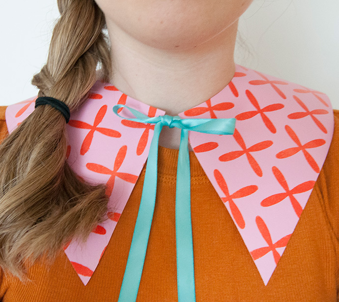 Paint Your Own Faux Collars