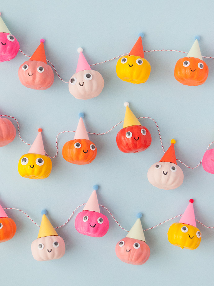 Party Pumpkin Garland
