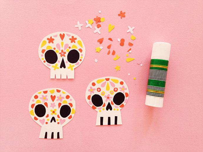 Paper Sugar Skulls