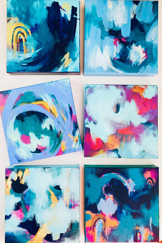 Exploring Creativity and Healing with Abstract Painting