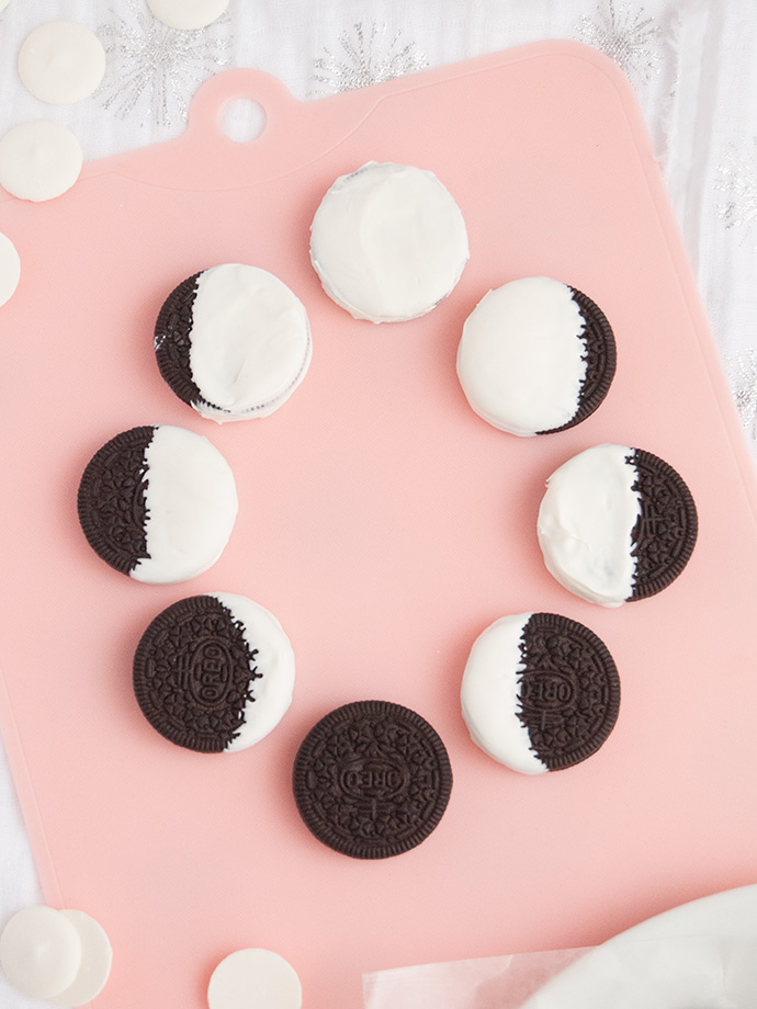 Oreo Moon Phase Cookies