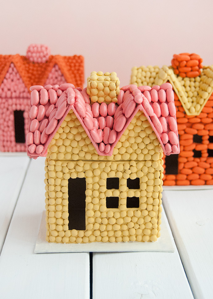 Bean Art Fall Houses