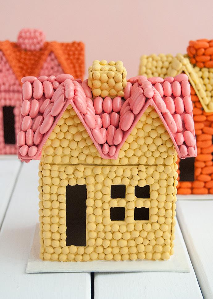 Bean Art Fall Houses