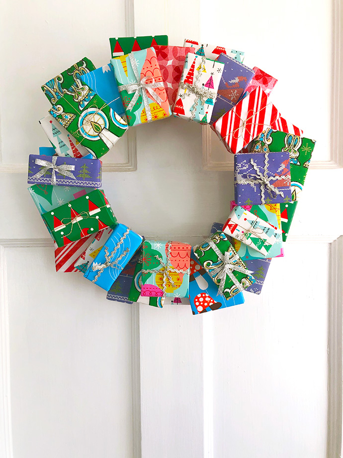 Package Wreath