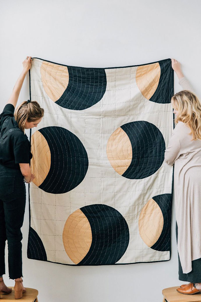 Colorful Contemporary Quilts