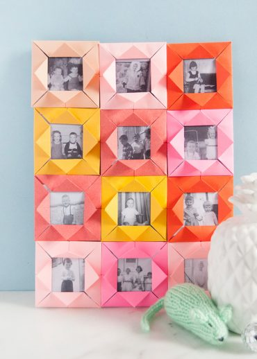 Origami Picture Frames