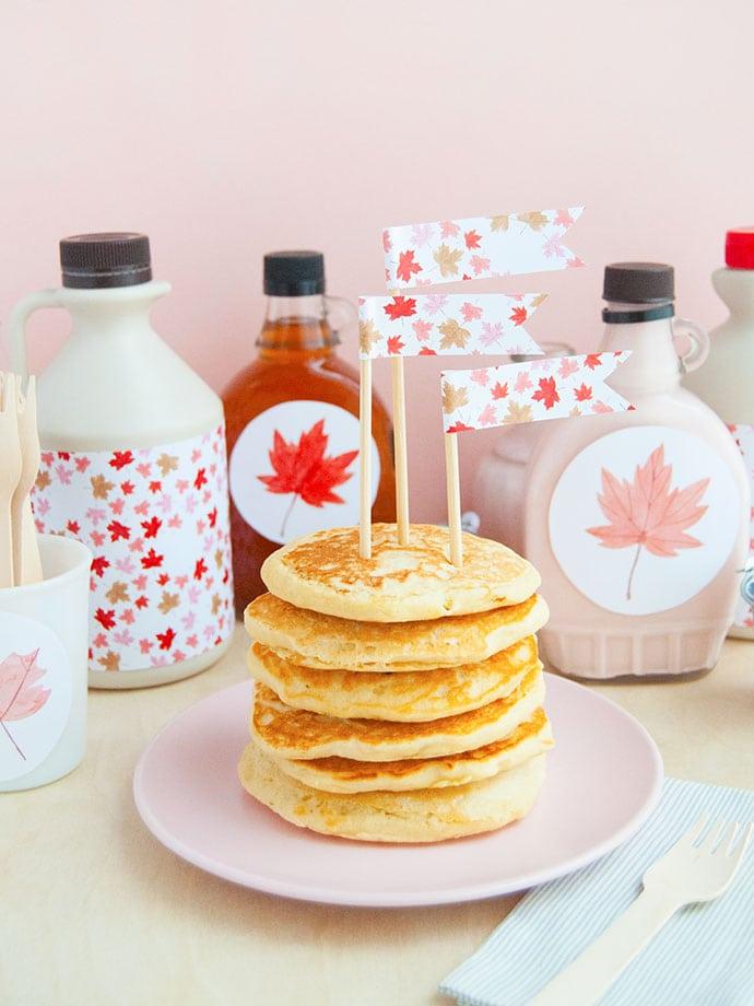 Host Your Own Maple Pancake Breakfast