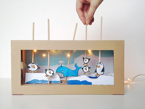 How to Put on a Puppet Show at Home