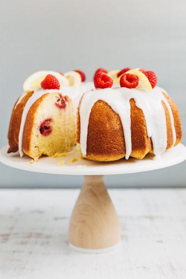 Raspberry Lemon Bundt Cake