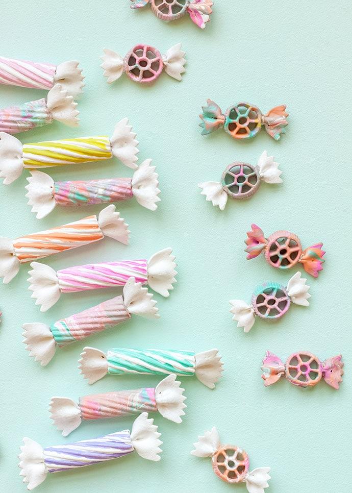 DIY Pasta Candy Shop