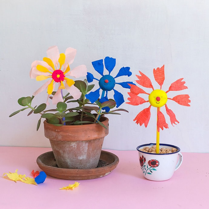 The Very Best Flower Power Crafts