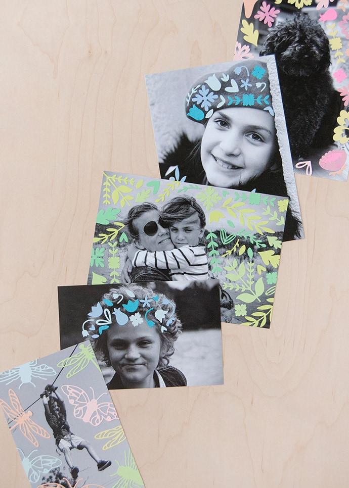 DIY Photo Collage Keepsakes
